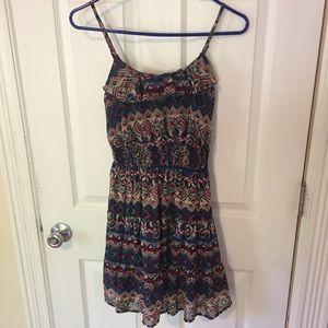Delia's Tribal Pattern Strappy Dress - Size XS
